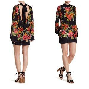 Free People 2 am Mini Dress Floral